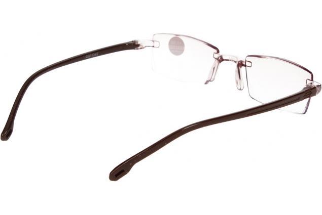 Foto 6 - Dioptrické brýle s antireflexní vrstvou hnědé +3,50