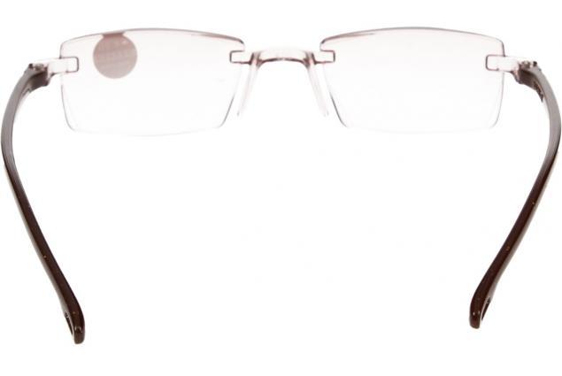 Foto 5 - Dioptrické brýle s antireflexní vrstvou hnědé +4,00