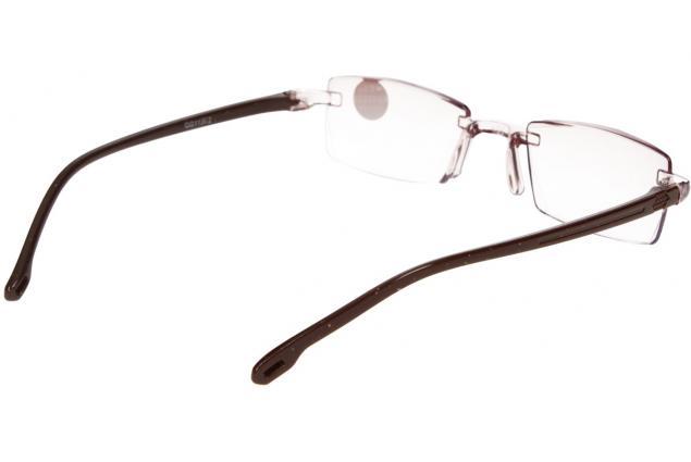 Foto 6 - Dioptrické brýle s antireflexní vrstvou hnědé +4,00