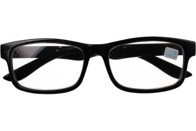 Foto 2 - Dioptrické brýle pro krátkozrakost -1,00 černé