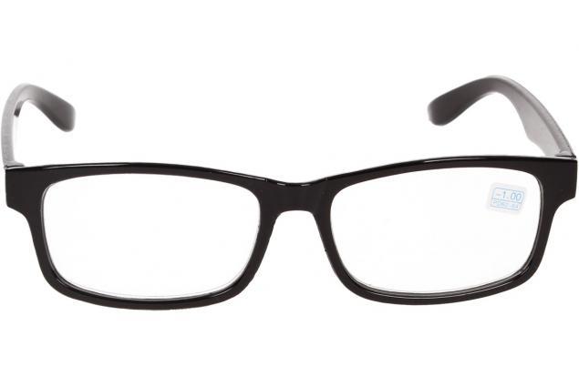 Foto 3 - Dioptrické brýle pro krátkozrakost -1,00 černé