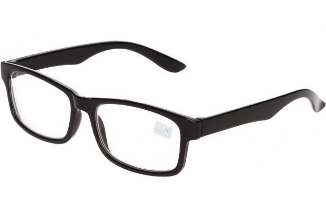 Foto 4 - Dioptrické brýle pro krátkozrakost -1,00 černé