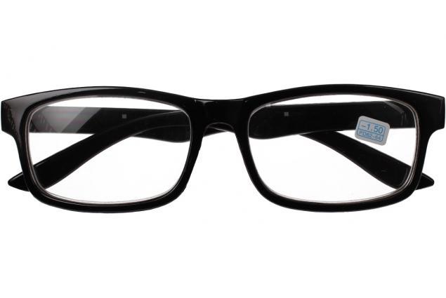 Foto 2 - Dioptrické brýle pro krátkozrakost -1,50 černé