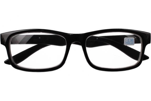 Foto 2 - Dioptrické brýle pro krátkozrakost -2,00 černé