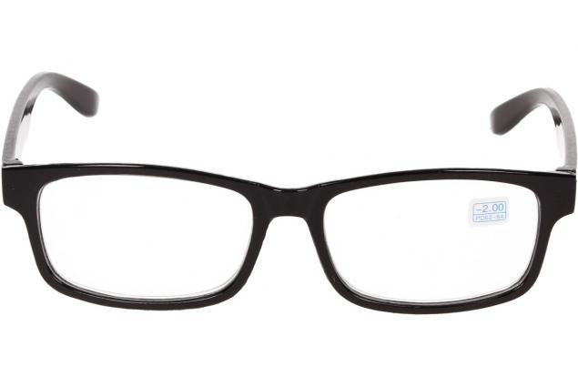 Foto 3 - Dioptrické brýle pro krátkozrakost -2,00 černé
