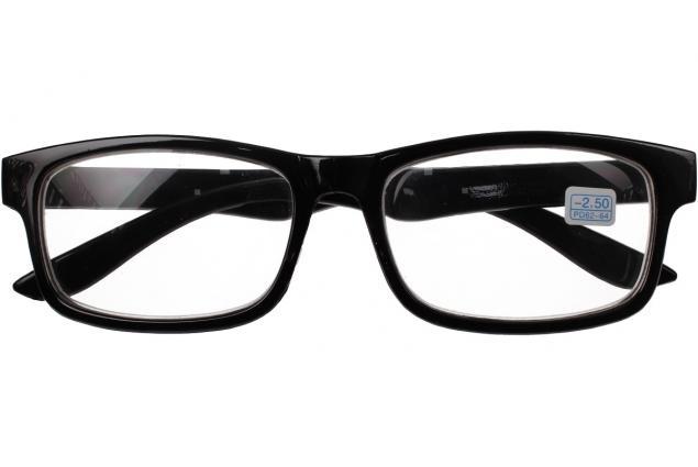 Foto 2 - Dioptrické brýle pro krátkozrakost -2,50 černé