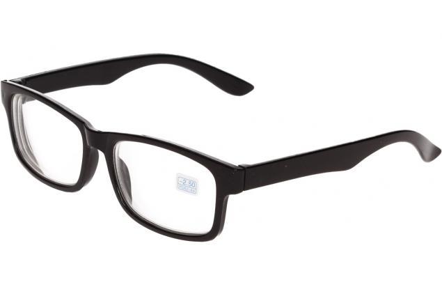 Foto 4 - Dioptrické brýle pro krátkozrakost -2,50 černé