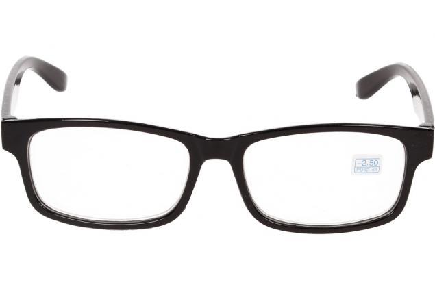 Foto 3 - Dioptrické brýle pro krátkozrakost -2,50 černé