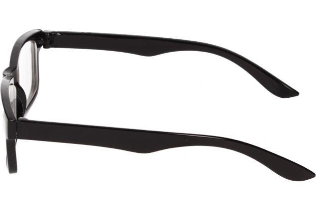 Foto 5 - Dioptrické brýle pro krátkozrakost -2,50 černé