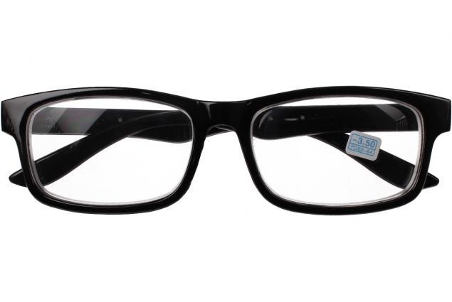 Foto 2 - Dioptrické brýle pro krátkozrakost -3,50 černé