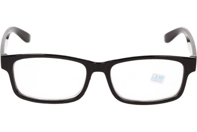 Foto 3 - Dioptrické brýle pro krátkozrakost -3,50 černé
