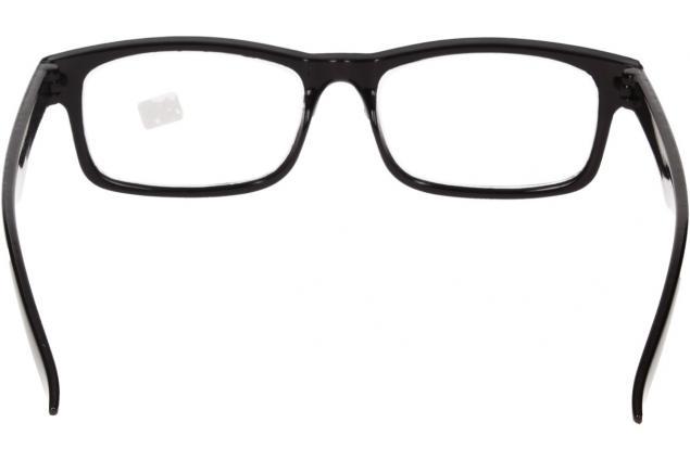 Foto 6 - Dioptrické brýle pro krátkozrakost -3,50 černé