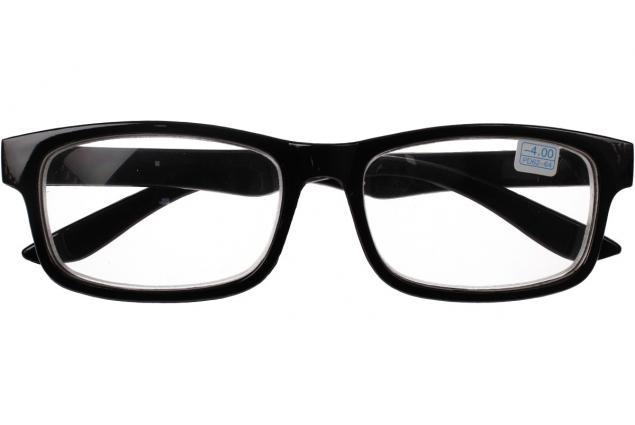 Foto 2 - Dioptrické brýle pro krátkozrakost -4,00 černé