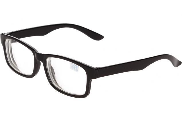 Foto 4 - Dioptrické brýle pro krátkozrakost -4,00 černé