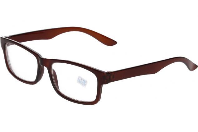Foto 4 - Dioptrické brýle pro krátkozrakost -1,00 hnědé