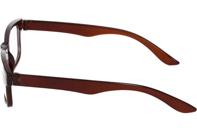 Foto 5 - Dioptrické brýle pro krátkozrakost -1,00 hnědé