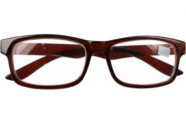 Foto 2 - Dioptrické brýle pro krátkozrakost -1,50 hnědé