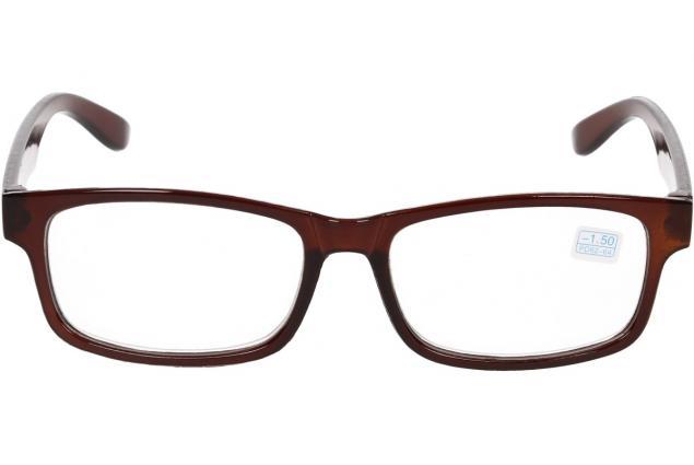 Foto 3 - Dioptrické brýle pro krátkozrakost -1,50 hnědé
