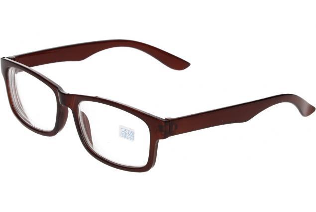 Foto 4 - Dioptrické brýle pro krátkozrakost -2,00 hnědé