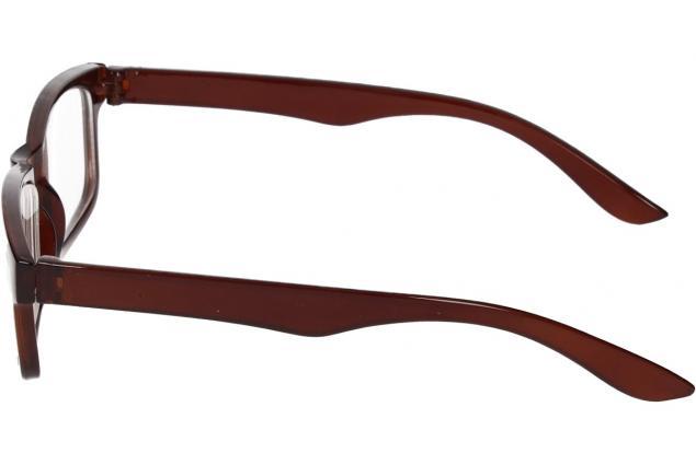 Foto 5 - Dioptrické brýle pro krátkozrakost -2,00 hnědé