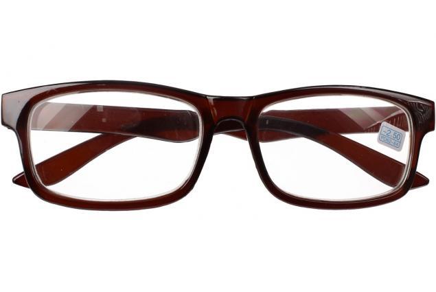Foto 2 - Dioptrické brýle pro krátkozrakost -2,50 hnědé