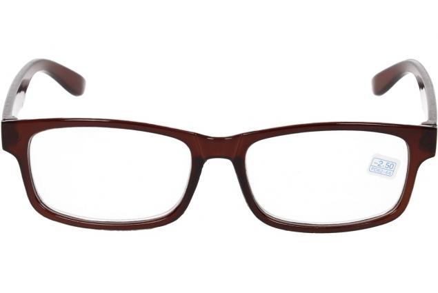 Foto 3 - Dioptrické brýle pro krátkozrakost -2,50 hnědé