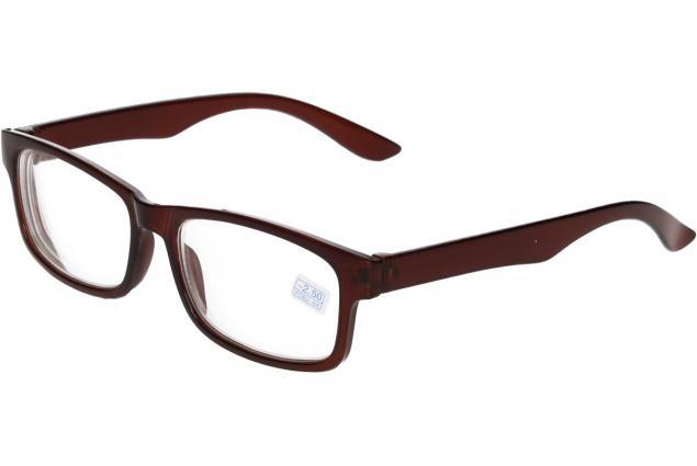Foto 4 - Dioptrické brýle pro krátkozrakost -2,50 hnědé
