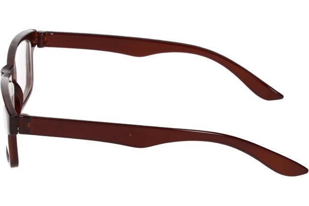 Foto 5 - Dioptrické brýle pro krátkozrakost -2,50 hnědé