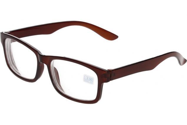 Foto 4 - Dioptrické brýle pro krátkozrakost -3,00 hnědé