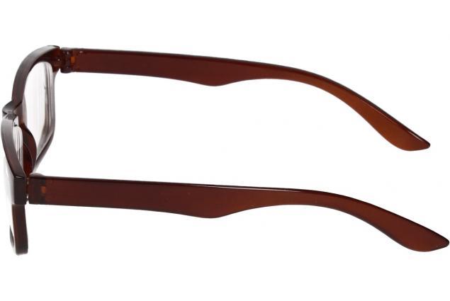 Foto 5 - Dioptrické brýle pro krátkozrakost -3,00 hnědé