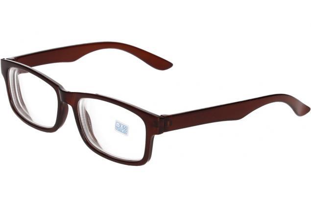 Foto 4 - Dioptrické brýle pro krátkozrakost -3,50 hnědé