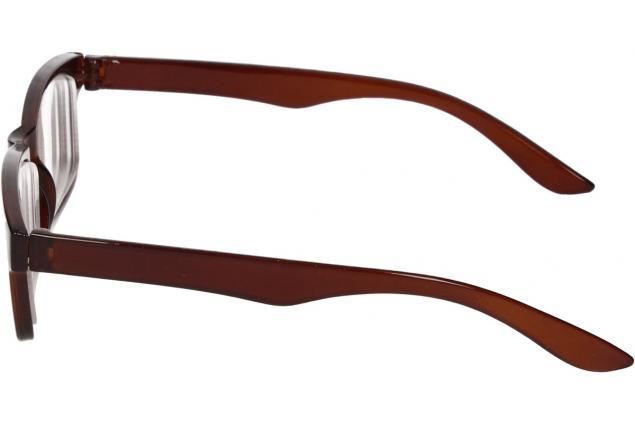 Foto 5 - Dioptrické brýle pro krátkozrakost -3,50 hnědé