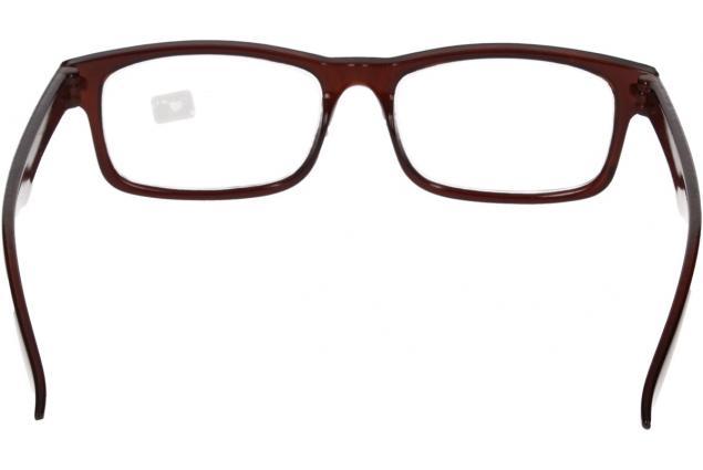 Foto 6 - Dioptrické brýle pro krátkozrakost -3,50 hnědé