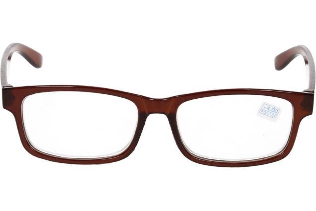 Foto 3 - Dioptrické brýle pro krátkozrakost -4,00 hnědé