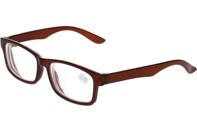 Foto 4 - Dioptrické brýle pro krátkozrakost -4,00 hnědé