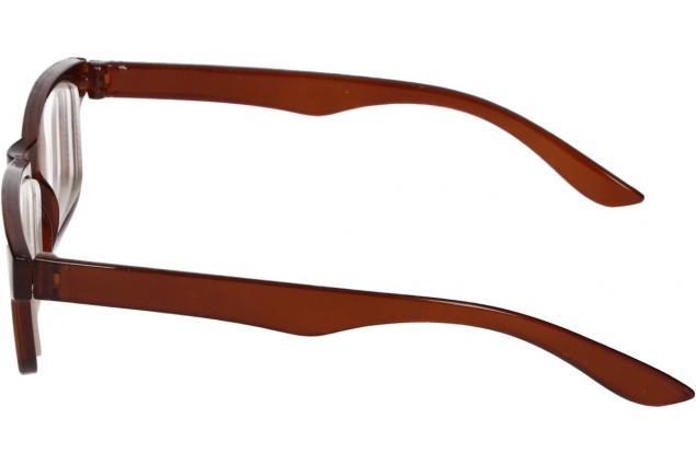Foto 5 - Dioptrické brýle pro krátkozrakost -4,00 hnědé