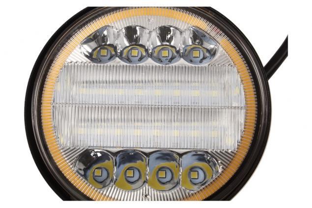 Foto 5 - LED pracovní světlo 24W double colour kulaté