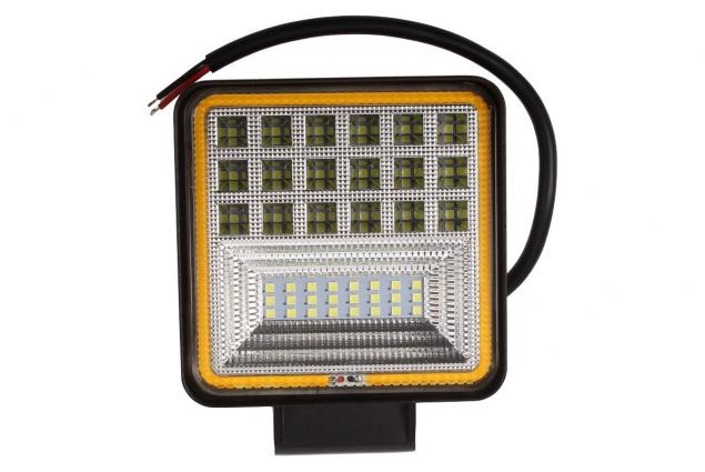Foto 2 - LED pracovní světlo 24W double colour hranaté