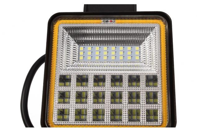 Foto 4 - LED pracovní světlo 24W double colour hranaté
