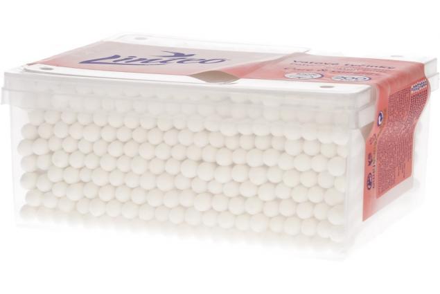 Foto 3 - Čistící vatové tyčinky Care & Comfort 200 ks