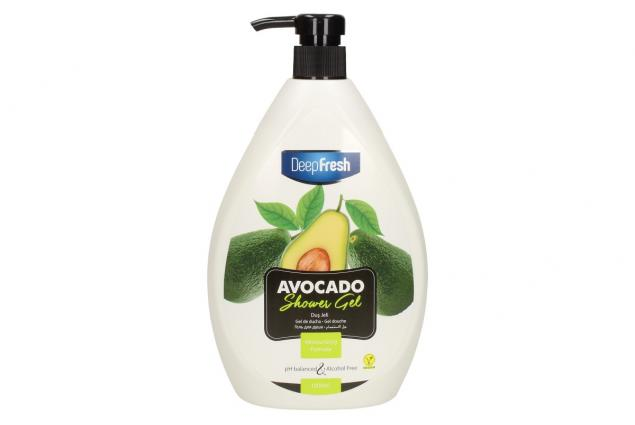 Foto 2 - Deep Fresh sprchový gel avocado 1L