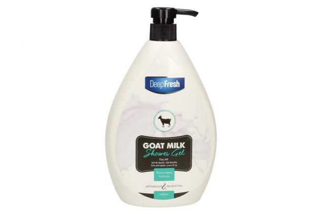 Foto 2 - Deep Fresh sprchový gel goat milk 1L