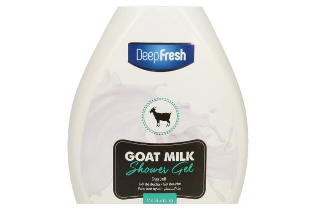 Foto 4 - Deep Fresh sprchový gel goat milk 1L