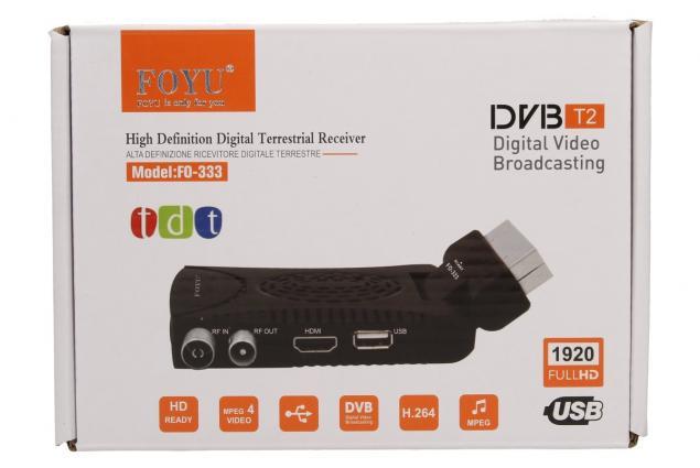 Foto 9 - FULL HD digitální setobox DVB-T/T2 FO-333