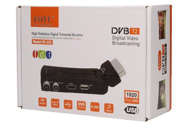 Foto 8 - FULL HD digitální setobox DVB-T/T2 FO-333