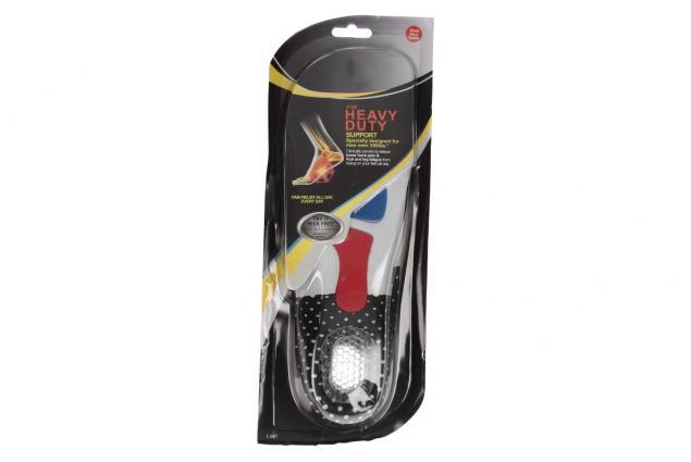 Foto 2 - Vložky do bot se silikonovou podložkou paty pánské