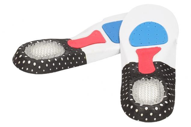Foto 6 - Vložky do bot se silikonovou podložkou paty pánské