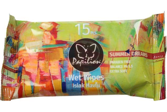 Foto 2 - Papilion vlhčené ubrousky 15ks Summer Dreams