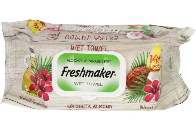 Foto 4 - Freshmaker vlhčené ubrousky 144ks Coconut & Almond