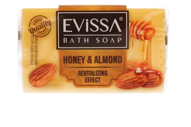 Foto 2 - Evissa mýdlo na obličej i tělo honey & almond 150g